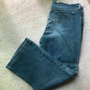 Gap Long and Lean Jeans size 18 ankle
